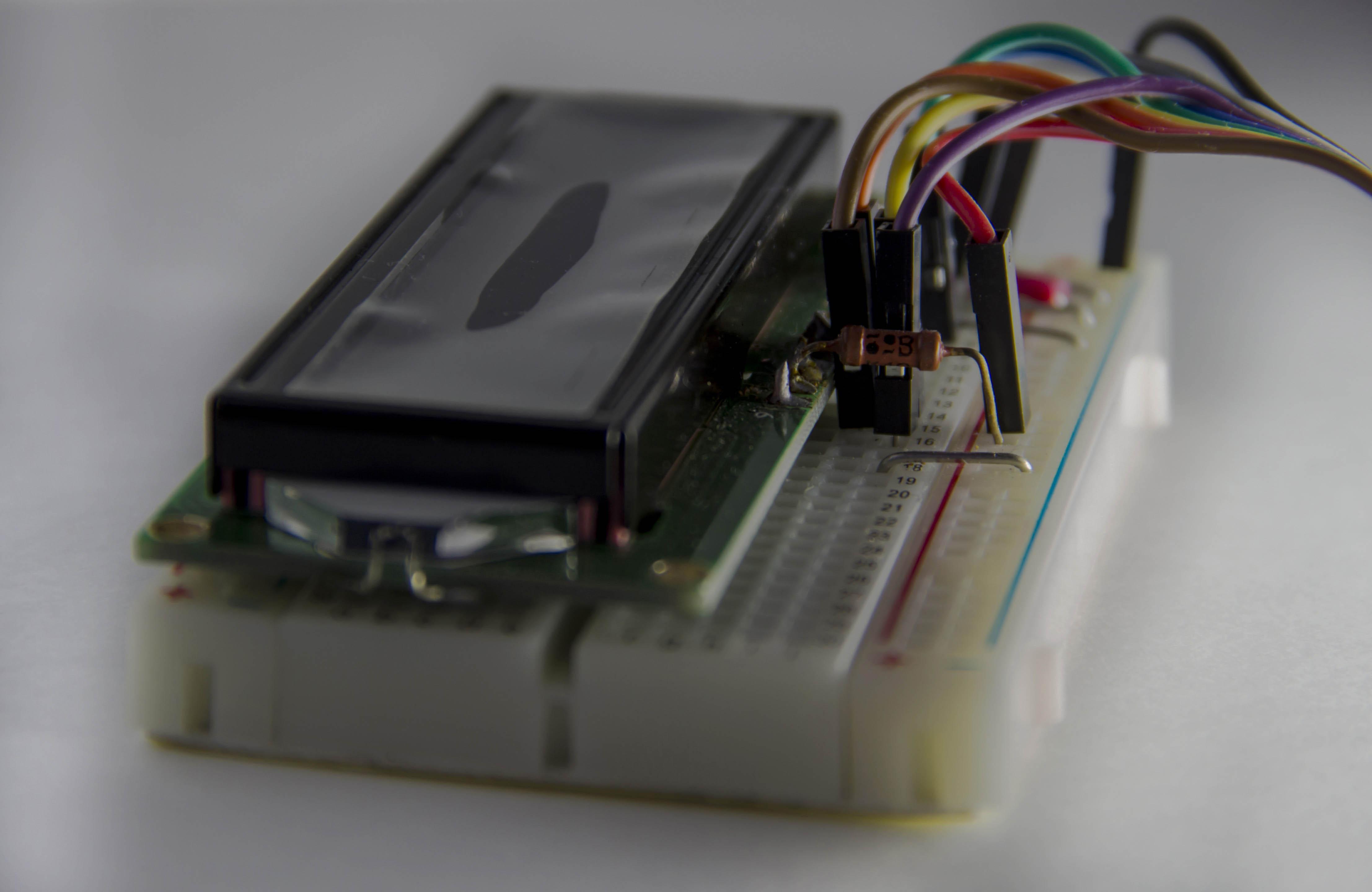 Подключение LCD1602 к Raspberry PI